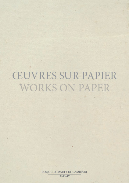 IV Works on Paper-Oeuvres sur papier